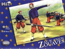 1:32 Scale American Civil War Zouaves - 9001