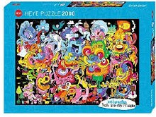 Burgerman: New Psychedoodlic 2000pcs - HEY29767