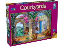 Courtyards: A Glimpse Of Tuscany 500pc - HOL096473