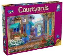 Courtyards: Floral Invitation 500pcs - HOL096497