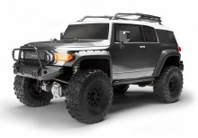 1:10 Venture Toyota FJ Cruiser Crawler Completely RTR (Gunmetal) - 116558
