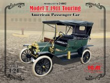 1:24 Model T 1911 Touring - 24002