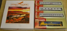HO Gauge Indian Pacific C30 Loco + 3 Cars Train Pack - IPSET