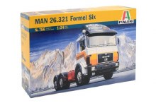 1:24 Scale MAN 26.321 Formel Six - 00756