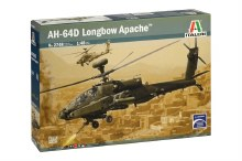 1:48 Scale AH-64D Longbow Apache Helicopter - 02748