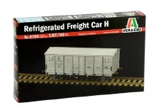 1:87 Scale Refrigerated Freight Car H - 08704