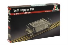 1:87 Scale Vcff Hopper Car - 08707