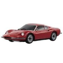 Mini-Z Ferrari Dino 246GT Red (MR-03 Chassis) - 32235R