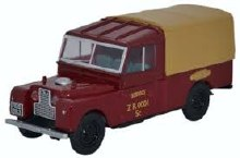 1:43 Scale Land Rover Series I 109inch Canvas British Railways - LAN1109009
