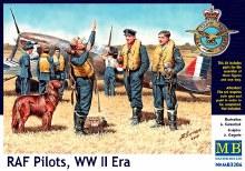 1:32 RAF Pilots, WW II Era - 3206
