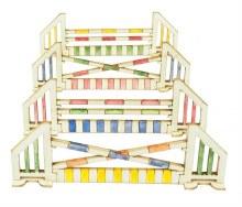 OO/HO Gauge Show Jumps Card Kit - PO511