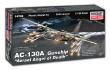 1:144 Scale AC-130A Gunship Azrael Angel Of Death - 14742