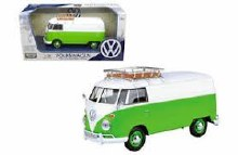 1:24 Scale Volkswagen Type 2 (T1) Delivery Van With Roof Rack - 79551