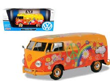 1:24 Scale Volkswagen Type 2 (T1) Delivery Van Flower Power - 79563