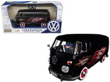 1:24 Scale Volkswagen Type 2 (T1) Delivery Van Custom Garage - 79567