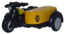 1:148 Scale Motorbike And Sidecar AA - NBSA001