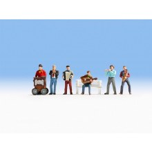 HO Gauge Street Musician Without Bench - 15563