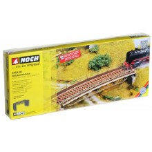 HO Gauge Bridge Deck Curved Laser Cut Kit - 67026