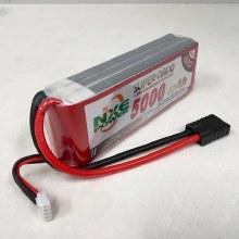 5000mAh 11.1v 3s 40C Softcase Lipo w/Traxxas plug - NXE5000SC403TRX