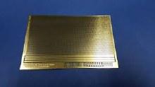 Photoetch Fine Mesh 0.5mm x 0.5mm Brass - PE01