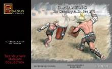 1:32 Scale Gladiators 1st Century A.D. Set 1 - 3201