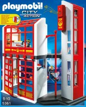 Fire Station With Alarm - PMB5361