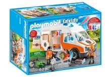 Ambulance with Flashing Lights - 70049