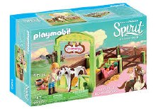 Abigail & Boomerang with Horse Stall - 9480