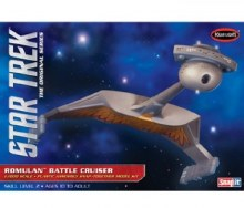 1:1000 Scale Star Trek Romulan Battle Cruiser Snap Kit - POL897