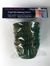 Baking Liners Evergreen Pk100
