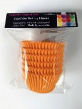 Baking Liners Orange Pk100