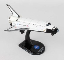 1:300 Scale Space Shuttle Atlantis - 58231