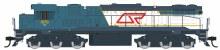 HOn3.5 Scale QR Blue Livery #1570 Locomotive - Q1501