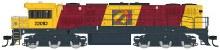 HO Scale QR Aurizon Logo #2201D Locomotive - Q2102