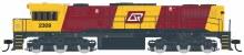 HO Gauge QR Queensland Rail #2309 Locomotive w/Sound - Q230/1S