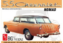 1:16 Scale 1955 Chevy Nomad Wagon - AMT1005
