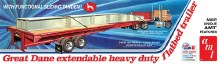 1:25 Scale Great Dane Extendable Flat Bed Trailer - AMT1111