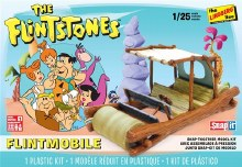 1:25 Scale Flintstones Flintmobile Snap Together - LIN0HL604