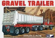 1:25 Scale 3 Axle Gravel Trailer - MPC823