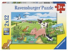 Baby Farm Animals 2 x 12pc - RB07582
