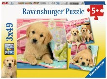 Cute Puppy Dogs 3 x 49pc - RB08065