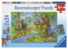 Cute Forest Animals 2 x 24pc - RB09117