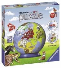 Children's Globe 3D Puzzleball 72pc - RB11840