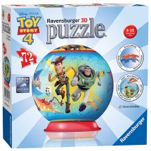Toy Story 4 3D Puzzleball 72pc - RB11847