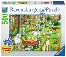 At The Dog Park 500pcs - RB14870
