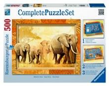 African Giants Complete Puzzle Set 500pcs - 14893-6