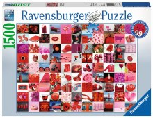 99 Beautiful Red Things 1500pcs - RB16215