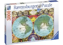 Antique Map 3000pcs - RB17074