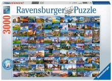 99 Beautiful Places Of Europe 3000pcs - RB17080