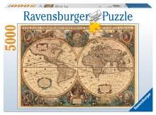 Historical World Map 5000pcs - 17411-9